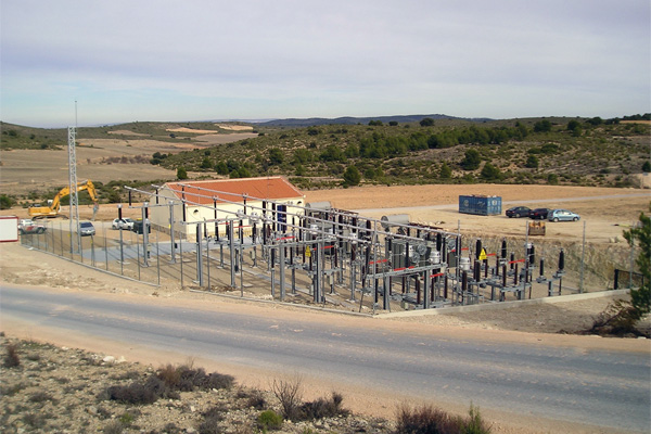 Proyectos obra civil Subestación eléctrica Gamesa